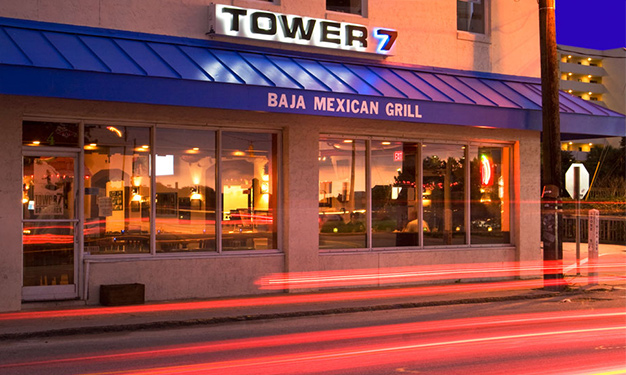 Tower 7 Baja Mexican Grill Wrightsville Beach NC